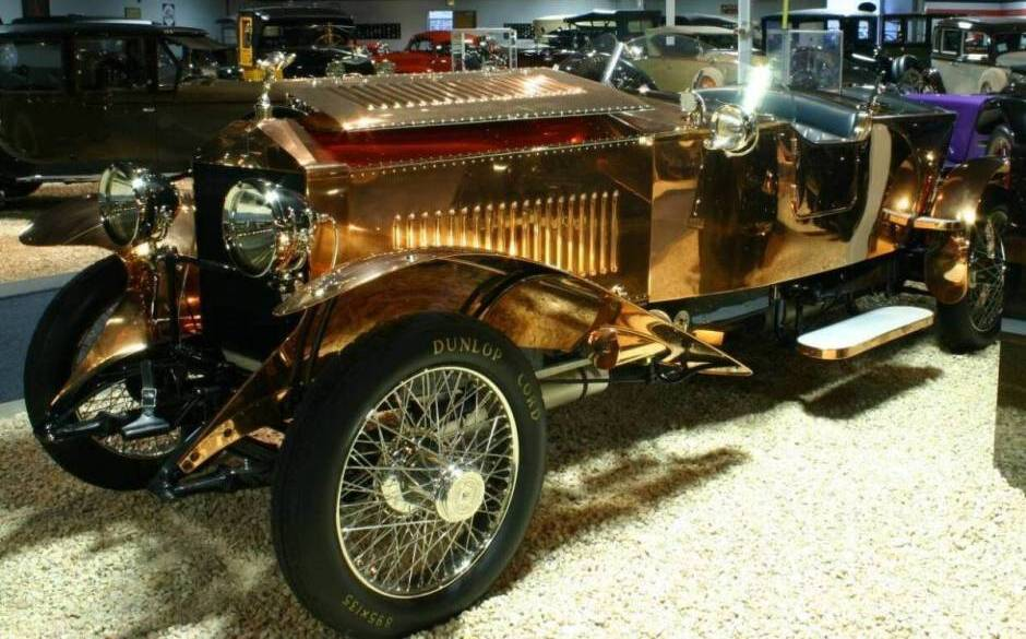 Rolls Royce Copper Car