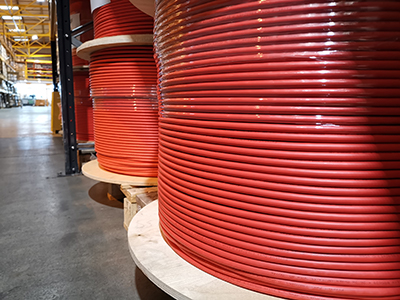 Red Cable Drum