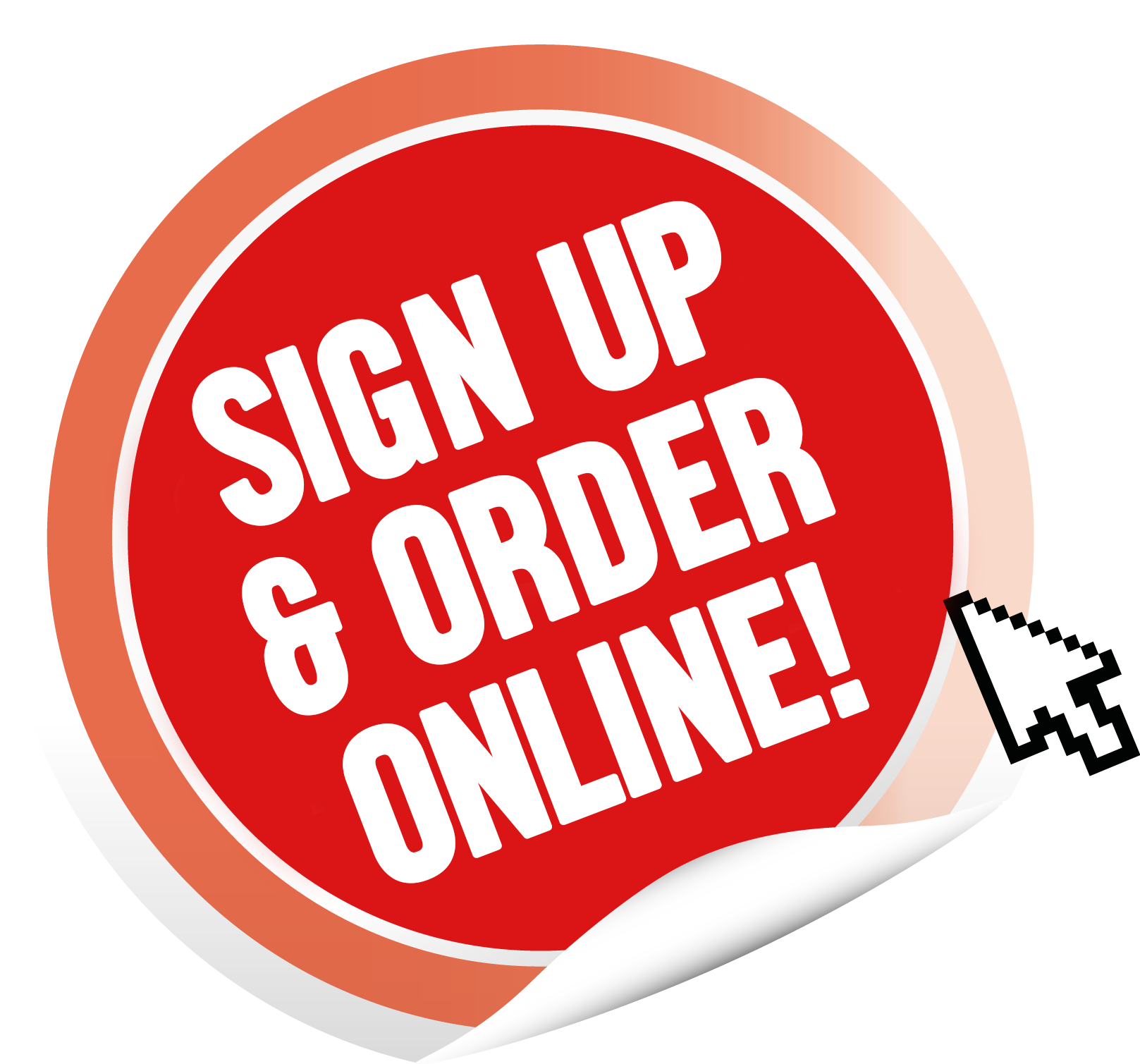 Sign Up to Order Online