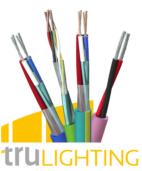 TruLighting - Lighting Control Cables for Most Leading Systems Such as KNX, Creston, Control4, Loxone, Simmtronic, Thorn and DALI